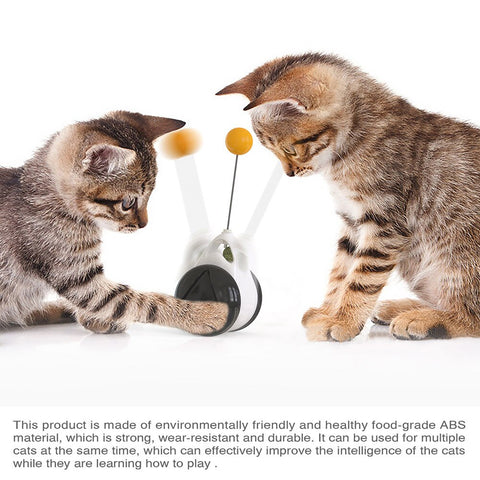 Image of Smart Cat Toy with Wheels