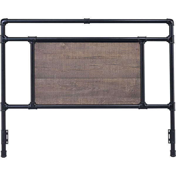 Elkton Black Metal Headboard