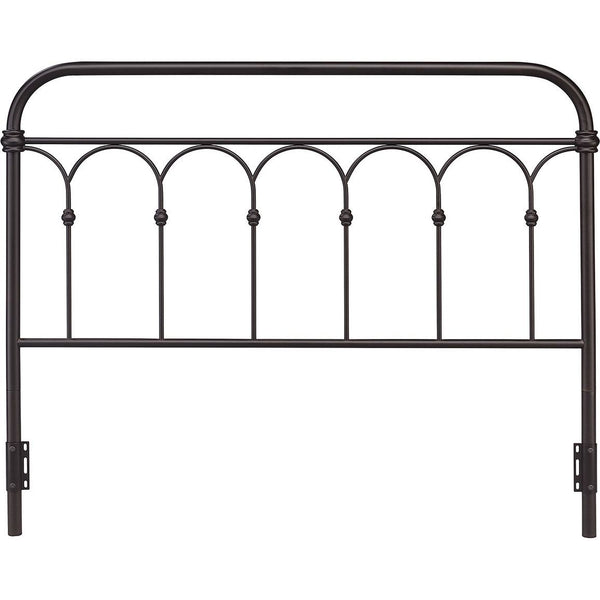 Hallwood Rust Metal Headboard