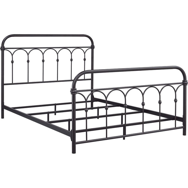 Hallwood Rust Metal Bed