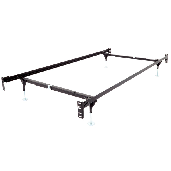 Bolt-On Deluxe Bed Frame with Headboard & Footboard Brackets