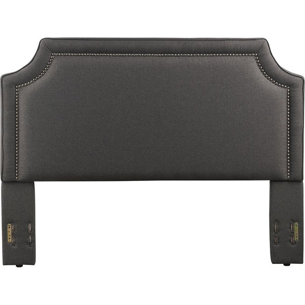 Brantford Upholstered Headboard in Charcoal