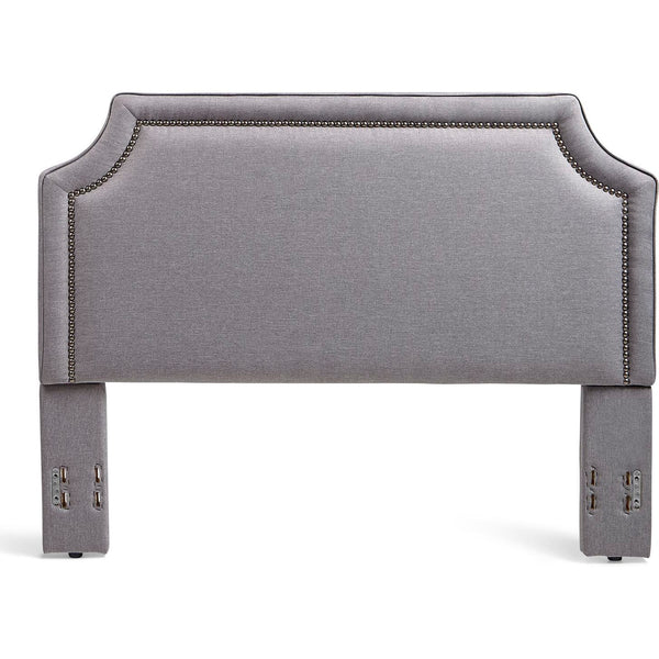 Brantford Upholstered Headboard in Grey