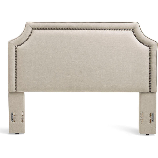 Brantford Upholstered Headboard in Taupe