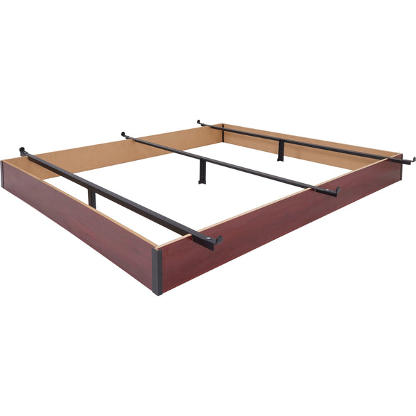 "Wood Hospitality Bed Base in Cherry - 7.5"" Height"
