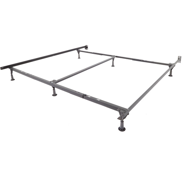 Universal Steel Bed Frame with Glides