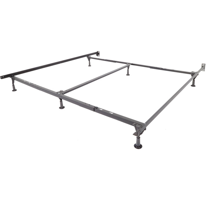 COVID-19 Emergency Bed Frame, Universal Bed Frame with Wheels and Glides