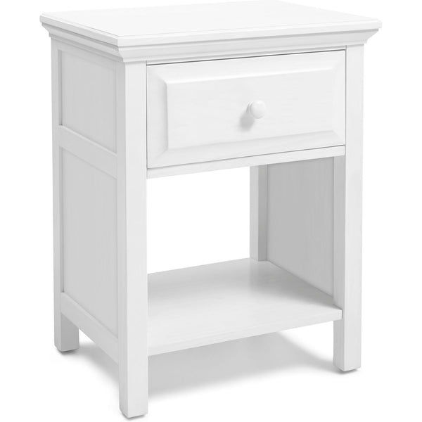 Cottage Nightstand - Gloss White