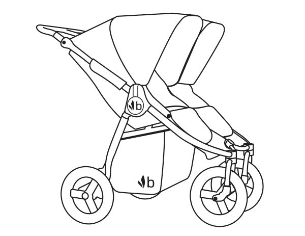 2018 Bumbleride Indie Twin Double Stroller Manual