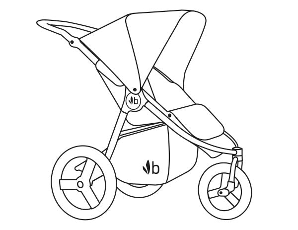 2018 Bumbleride Speed Jogging Stroller Manual