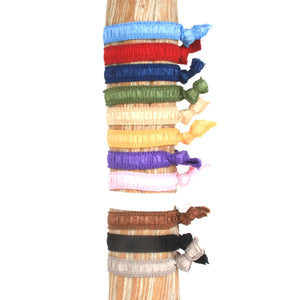 Mixed Solids Hair Bracelets