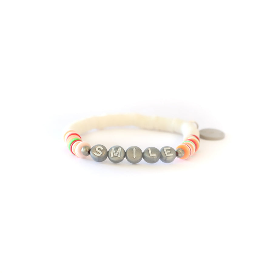 White Vibe Catcher Bracelet