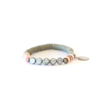 Grey Vibe Catcher Bracelet