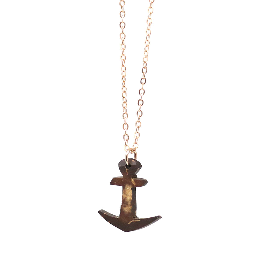 Coconut Anchor Necklace