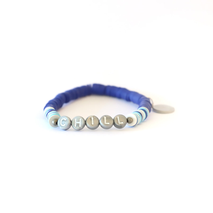 Blue Vibe Catcher Bracelet
