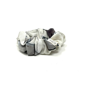 Grays Watercolor Scrunchie