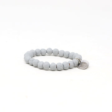 Pebble Grey Mission Bracelet