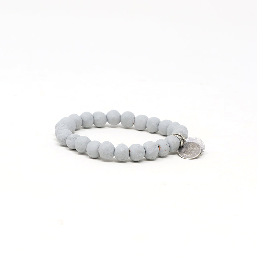 Pebble Gray Mission Bracelet