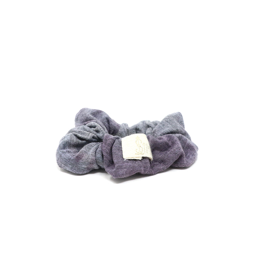 Stormy Gray Scrunchie