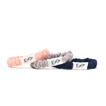 Swimbi Scrunchies Simbi Indigo Girls Navy Blue, Gray, Pink
