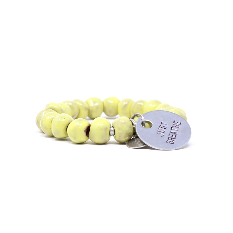 Banana Yellow Charm Bracelet