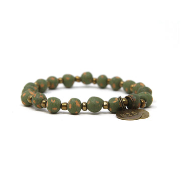 Dark Green Mission Bracelet