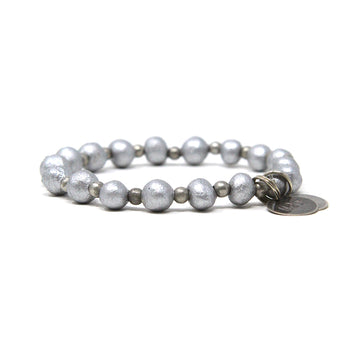 Metallic Silver Mission Bracelet