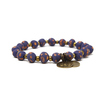 Dark Purple Mission Bracelet
