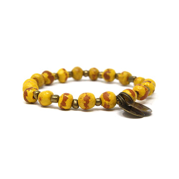 Mustard Yellow Mission Bracelet