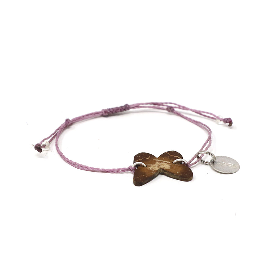 Butterfly Coconut String Bracelet