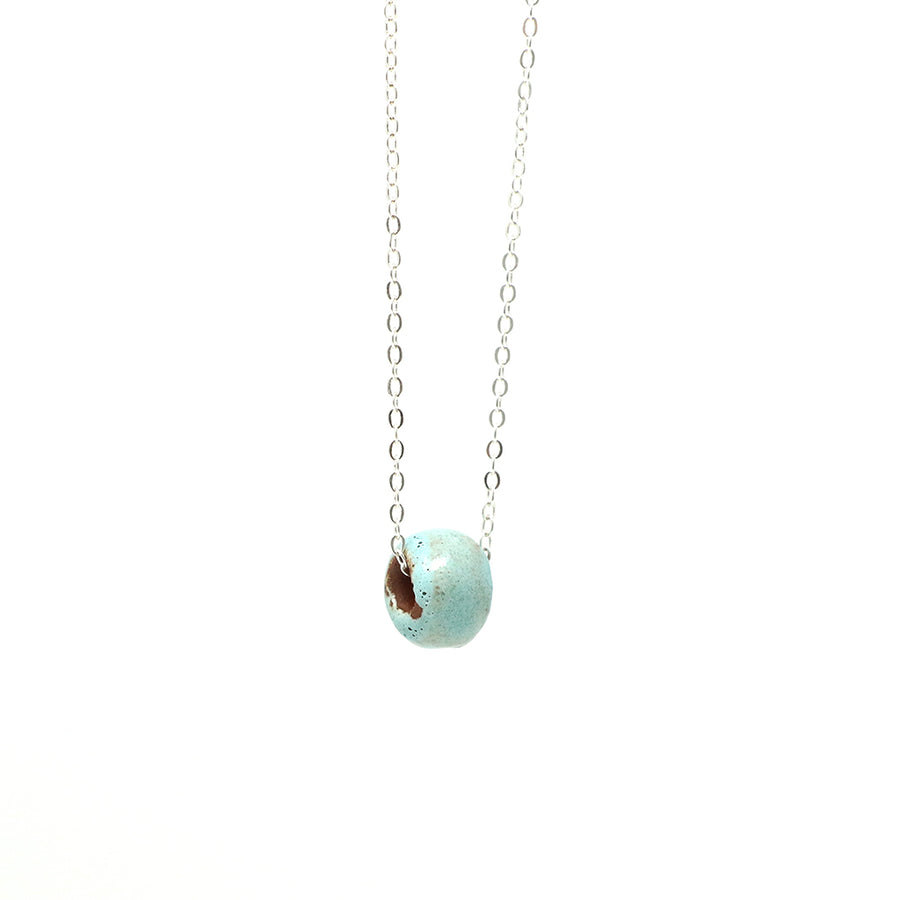 Seafoam Bead Necklace