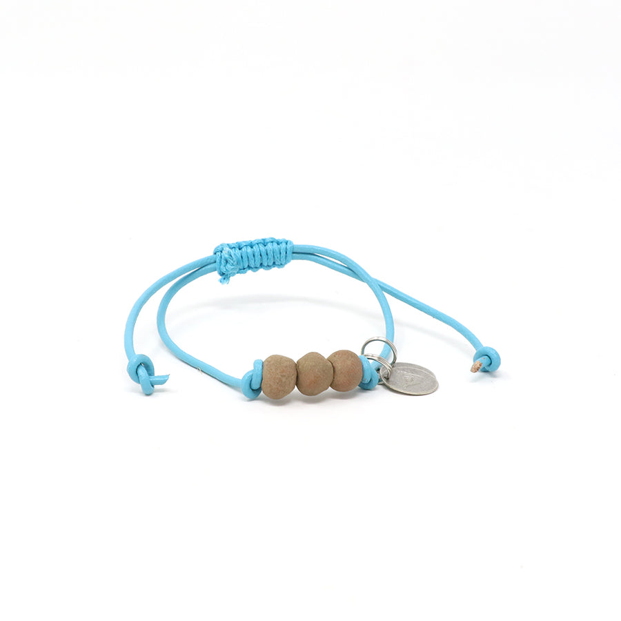 Tan Vegan Leather Pipeline Bracelet