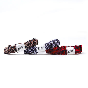 Swimbi Scrunchies Simbi Tribe Vibe Leopard, Zebra, Geometric Red