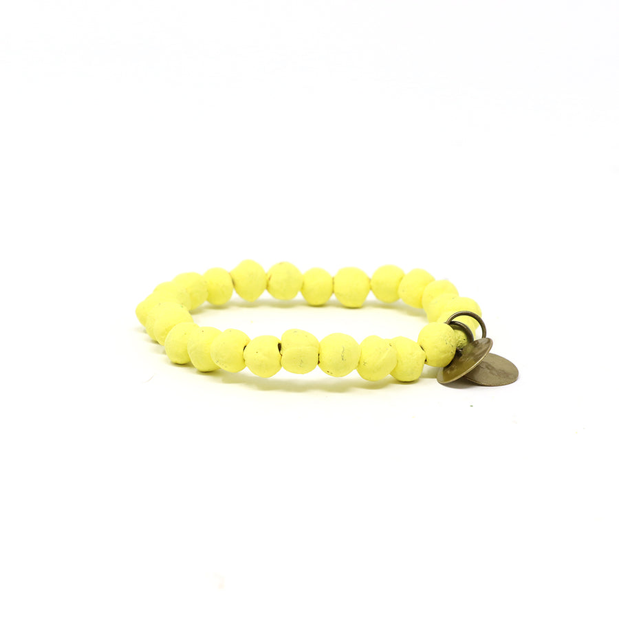 Pineapple Yellow Mission Bracelet