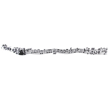 Music Note Headband