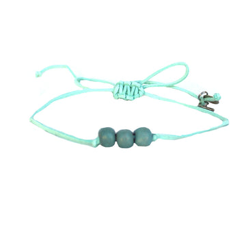Seafoam Three Bead Choker
