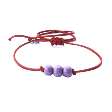 Acai Berry Three Bead Choker