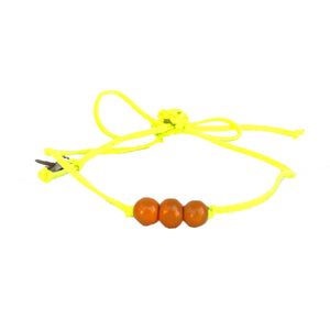 Apricot Beaded Choker Necklace