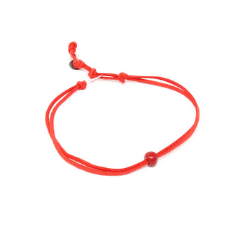 Candy Red Bead Choker
