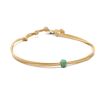 Bright Jade Beaded Choker