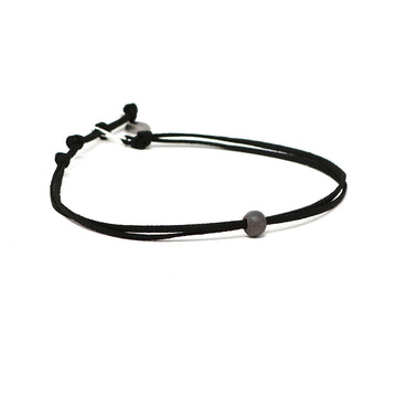 Lava Slate Beaded Choker