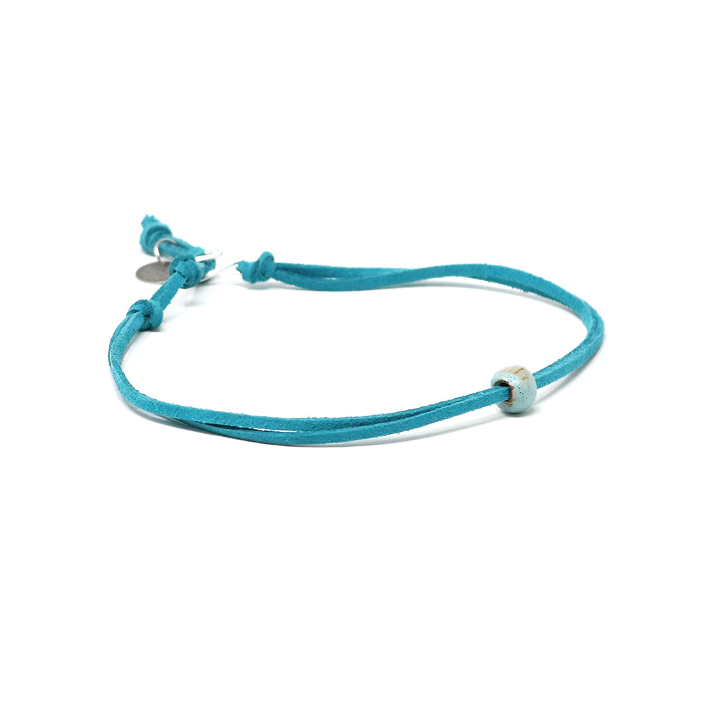 Seafoam Beaded Choker Necklace
