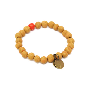 ONEderful Sunset Clay Bracelet