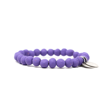 Royal Purple Mission Bracelet