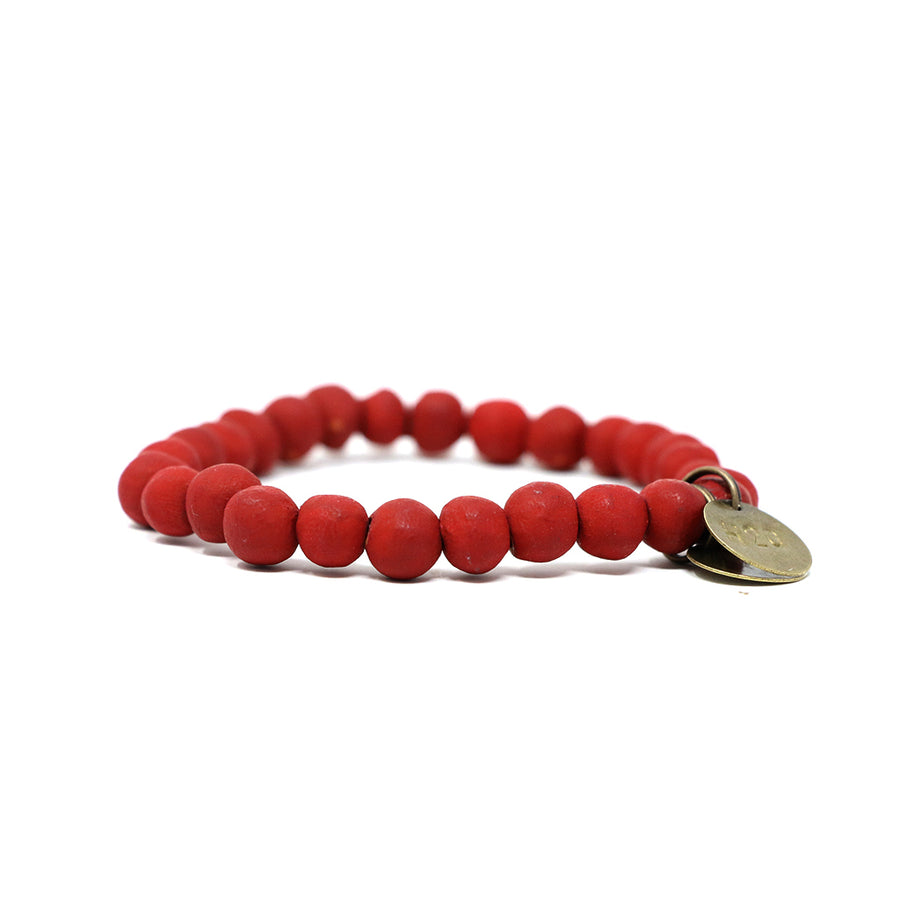 Scarlet Red Mission Bracelet