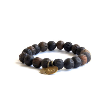 Men's Large Fire Pit Black Mission Bracelet