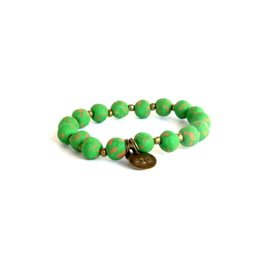 Kelly Green Mission Bracelet