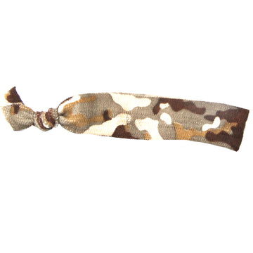 Brown Camo Hair Bracelet