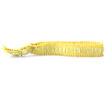 Bamboo Yellow Hair Bracelet