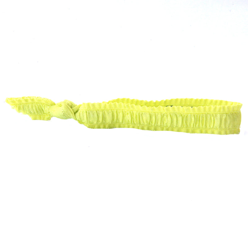 Neon Yellow Hair Bracelet